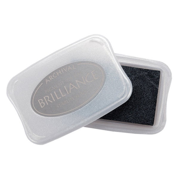 Tsukineko Brilliance Starlite Black Pigment Ink Pad