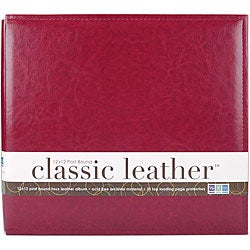 We R Classic 12x12 Leather Postbound Album
