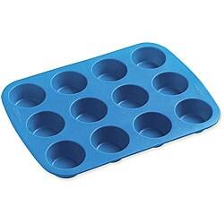 Wilton Easy-flex Silicone Mold 12-cup Mini Muffin Pan