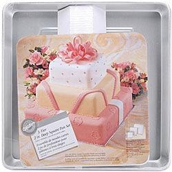 3-tier Square Cake Pan Set (Pack of 3 Pans)