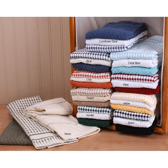 Terry 9-piece Kitchen Towel Set at Sears.com