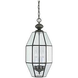 Sea Gull Lighting Grandover 3-light Bronze Hall/ Foyer Fixture