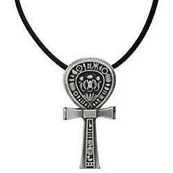Pewter Ankh Necklace