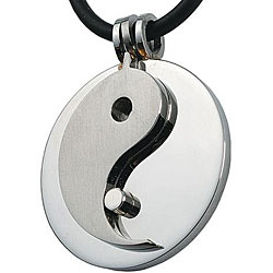 Stainless Steel Yin-yang Necklace
