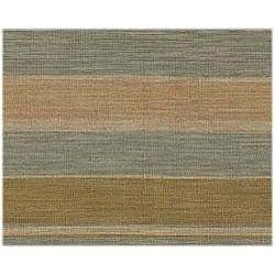 Hand-woven Arrah Dhurry Wool Rug (9' x 12')