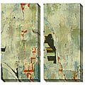 Sara Abbott 'Grafitti I & II' Oversized Canvas Art Set
