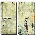 Sara Abbott 'Grafitti III & IV' Oversized Canvas Art Set