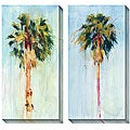 Allyson Krowitz 'Cabbage Palm' Oversized Canvas Art Set