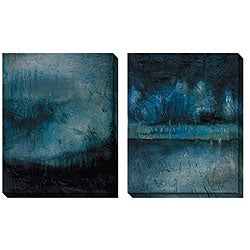 Gallery Direct Caroline Ashton 'Serenity' Oversized Canvas Art Set