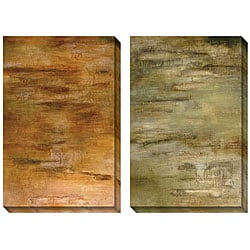Caroline Ashton 'Passages' Oversized Canvas Art Set