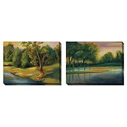 Caroline Ashton 'Illumination' Oversized Canvas Art Set