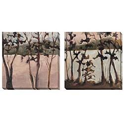Caroline Ashton 'Quiet Moments' Oversize Canvas 2-piece Art Set