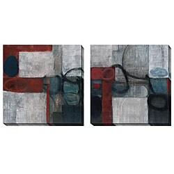 Bailey 'Audax' Oversized Canvas Art Set