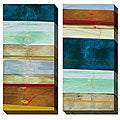 Gallery Direct Benjamin Deal 'Advancement' Oversized Canvas Art Set