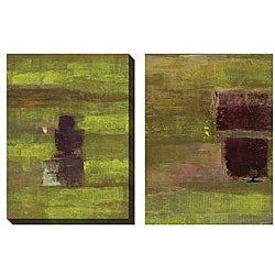 Jane Bellows 'Submit' Oversized Canvas Art Set