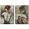 Jane Bellows 'Girl with Pearl Earing' Oversized Canvas Art Set