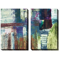 Jane Bellows 'Stages' Oversized Canvas Art Set