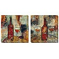 Jane Bellows 'The Good Life' Canvas Art Set