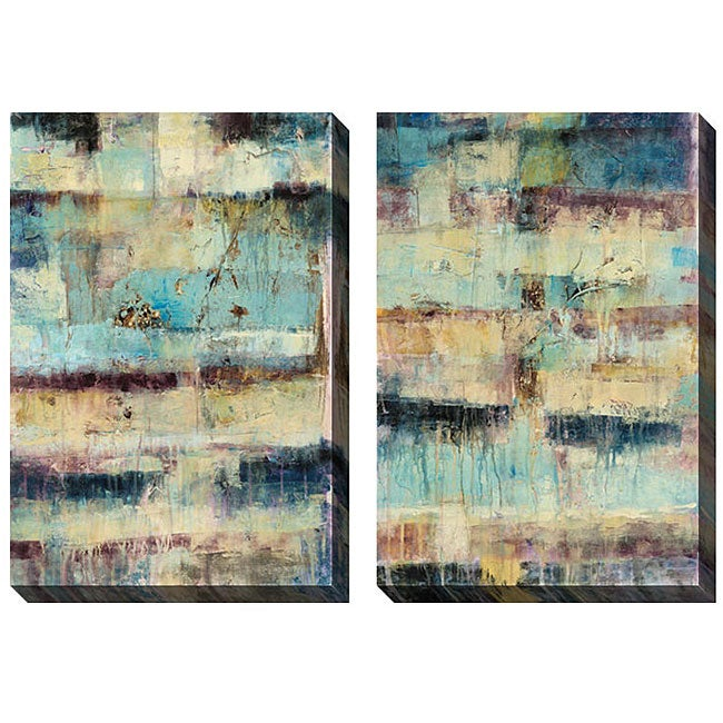 Gallery Direct Jane Bellows 'Primary' Oversized Canvas Art Set