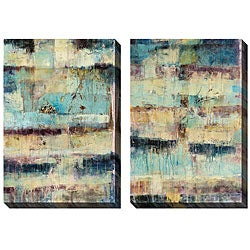 Jane Bellows 'Primary' Oversized Canvas Art Set