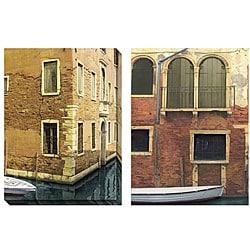 Deborah Dupont 'Venice' Oversized Canvas Art Set