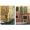 Deborah Dupont 'Venice' Oversized Canvas Art Set