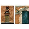 Deborah Dupont 'Door Series III & IV' Oversized Canvas Art Set