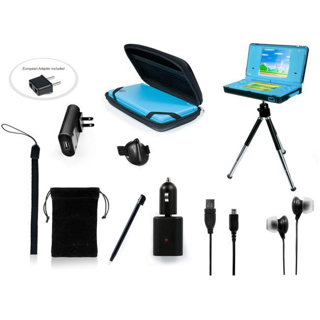 10 in 1 Amazing Kit for DSi in Black