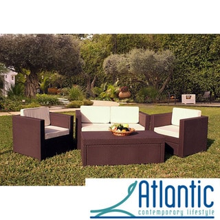 Sanremo Brown 4-piece Patio Furniture Set