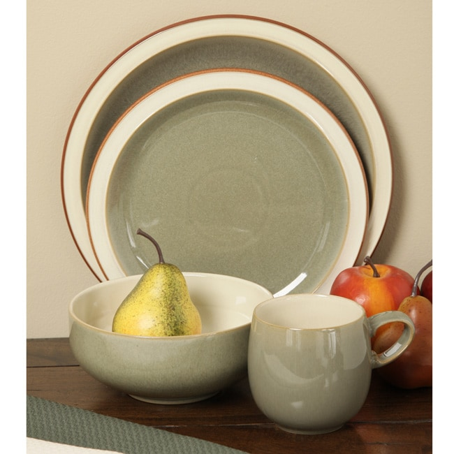 Denby Fire Sage 16-piece Dinnerware Starter Set