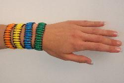 Set of 2 Recycled Namuwongo Paper Bracelet (Uganda)