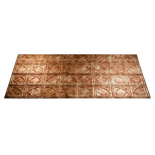 Fasade Bermuda Bronze 2x4-foot Ceiling Panels (Set of 6)