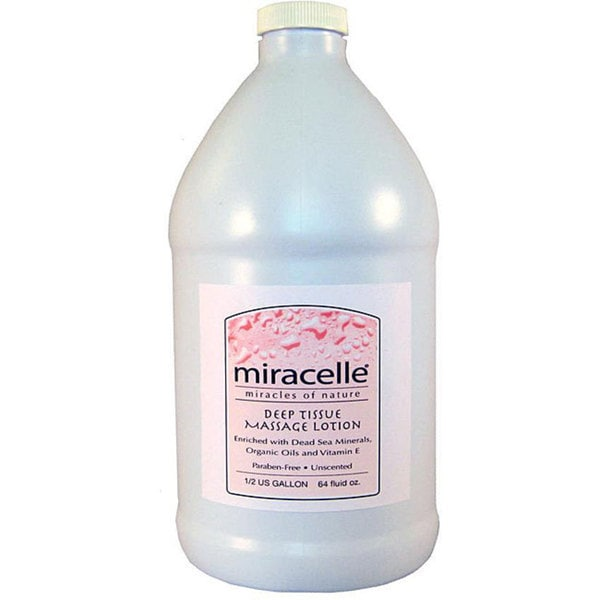 Miracelle Master Half-gallon Deep Tissue Massage Lotion