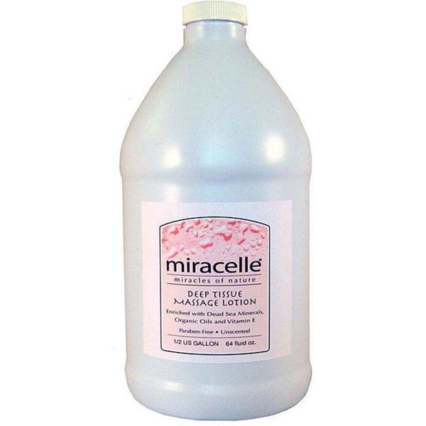 Miracelle Master Half-gallon Deep Tissue Massage Lotion