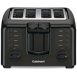 Cuisinart CPT-140BKFR Black Compact 4-slice Toaster (Refurbished)