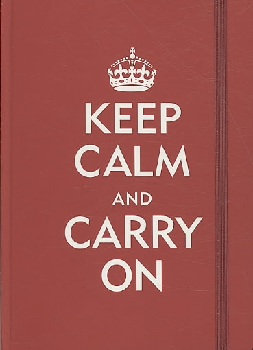Keep Calm & Carry on (Notebook / blank book)