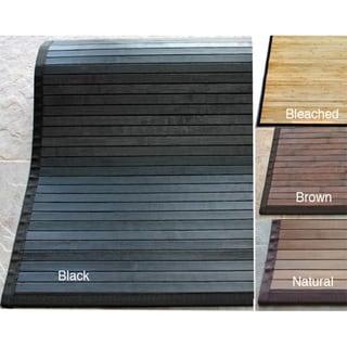 nuLOOM Handmade Eco Natural Fiber Bamboo Rug (5' x 8')