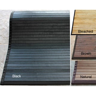 nuLOOM Handmade Eco Natural Fiber Bamboo Rug (8' x 10')