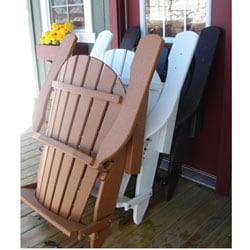 Forever Phat Tommy Recycled Deluxe Folding Adirondack Chair