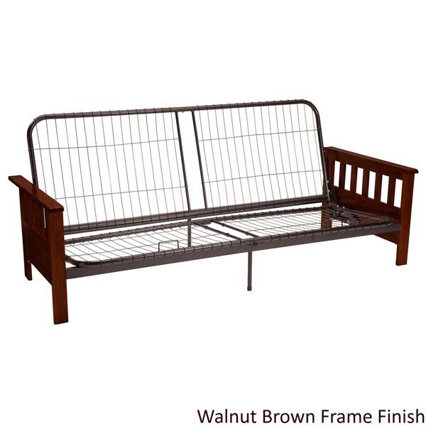 Wood Futon Frame Sofa Bed Sleeper Couch Queen Metal