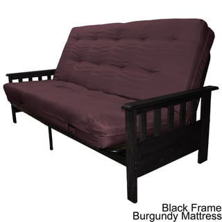 Provo Full Mission-style Frame/ Mattress Futon Set