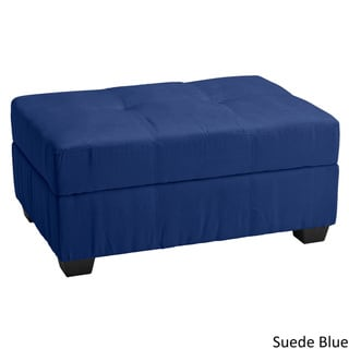 Vanderbilt Tufted Padded Hinged Storage Ottoman Bench