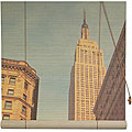 Empire State Building 48-inch Bamboo Blinds (China)