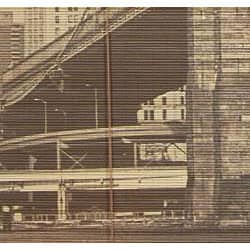 Brooklyn Bridge 36-inch Bamboo Blind (China)
