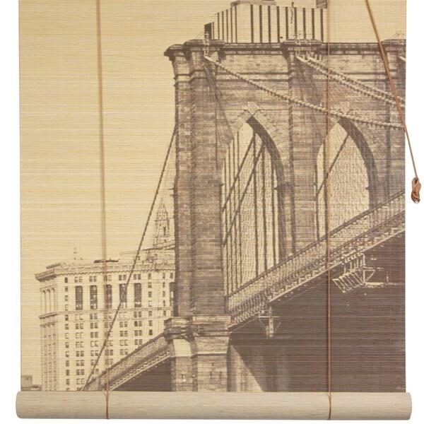 Brooklyn Bridge 36-inch Bamboo Blind (China)