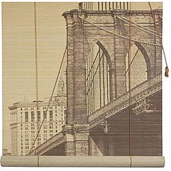 Brooklyn Bridge 48-inch Bamboo Blind (China)