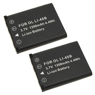 Two Rechargeable Batteries for Fuji FinePix