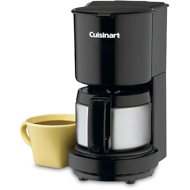 Cuisinart DCC-450BKFR 4-cup Coffeemaker with Stainless Steel Carafe (Refurbished)