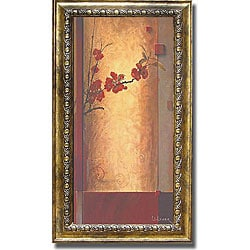 Don Li-Leger 'Blossom Tapestry II' Framed Canvas Art