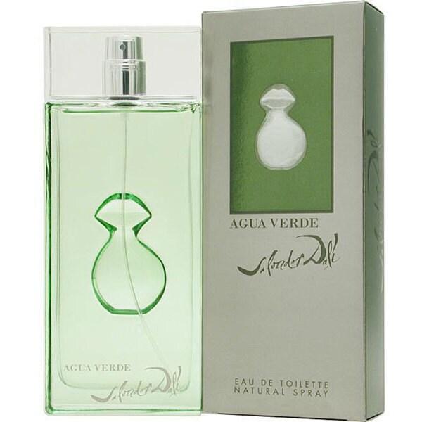 Salvador Dali 'Agua Verde' Men's 3.4-ounce Eau de Toilette Spray